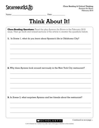 Storyworks Jr  | Scholastic's Multigenre ELA Magazine for Grades 2–3