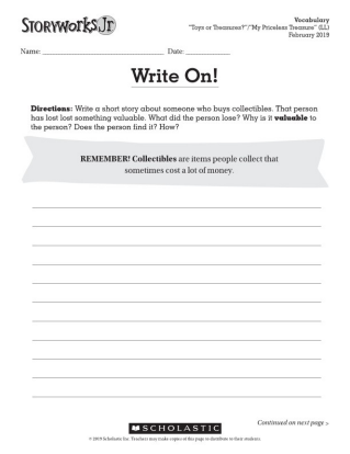 photo relating to Black History Month Quiz Printable identified as Storyworks Jr. Scholastics Multigenre ELA Journal for